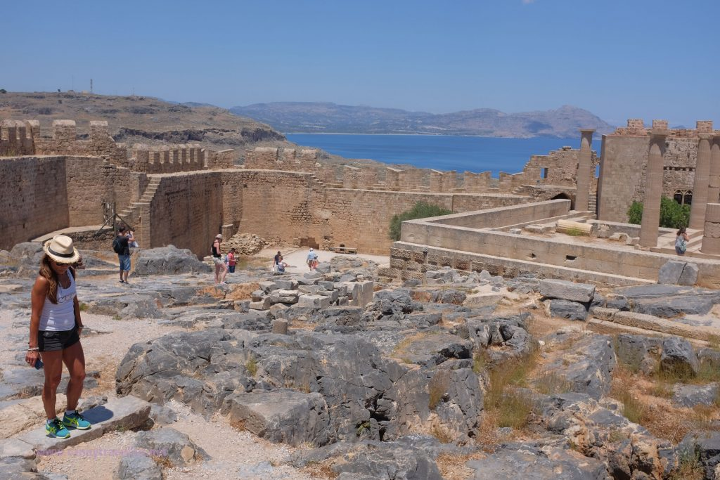 The Acropolis, Lindos, Rhodes