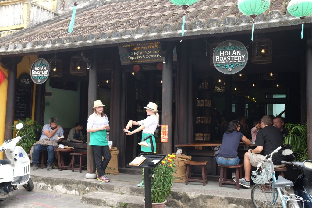 Hoi An Roastery - coffee shop in the main shopping street, Hoi An, Vietnam