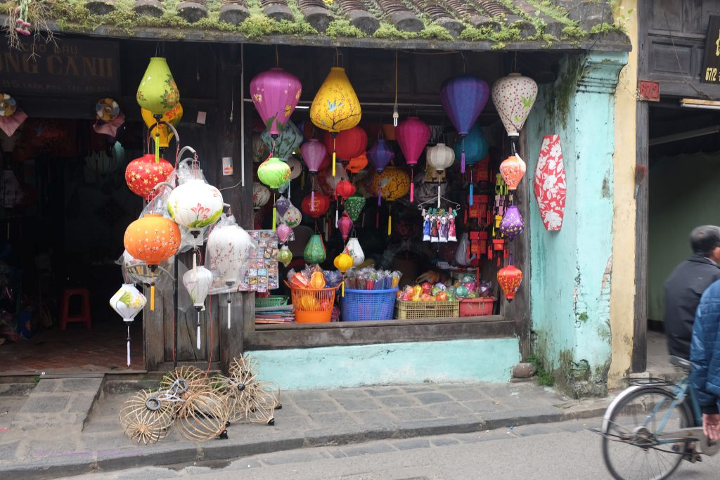 In the main shopping street, Hoi An, Vietnam