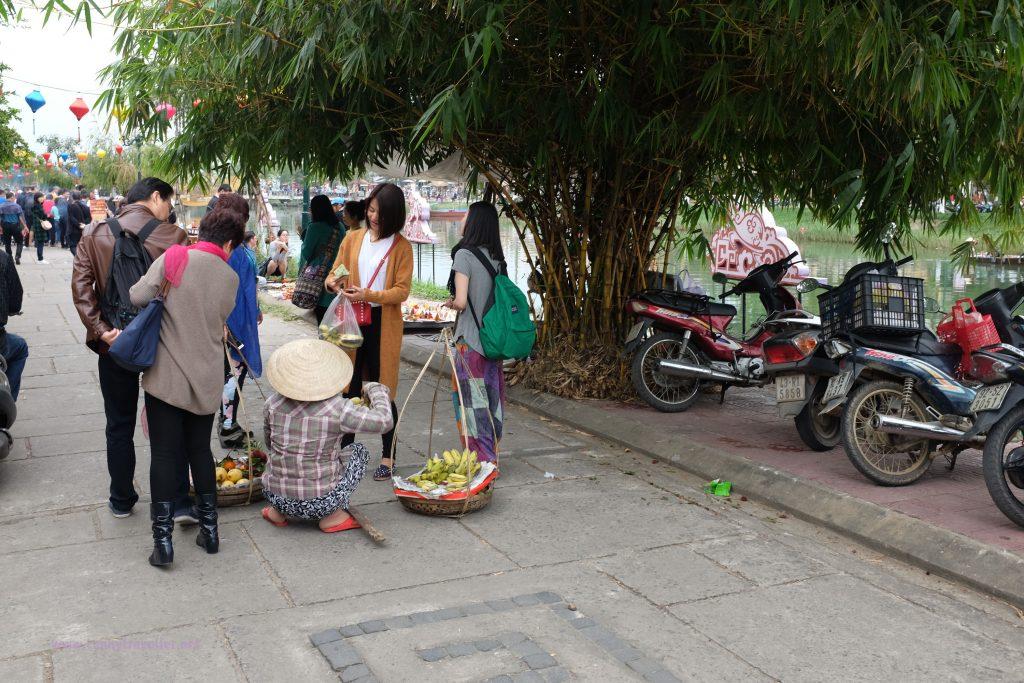 Street vendors, Hoi An, Vietnam