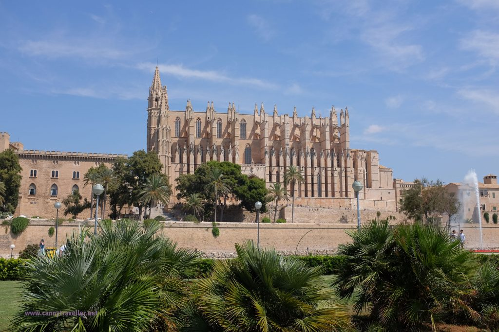 The cathedral in Palma, Majorca