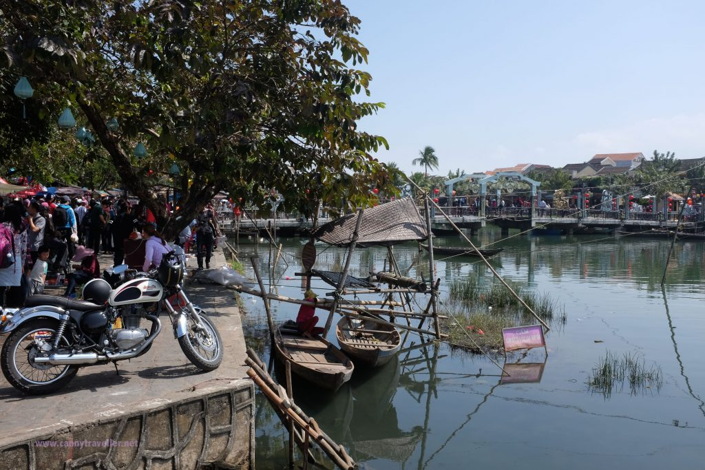 The river in Hoi An, Vietnam