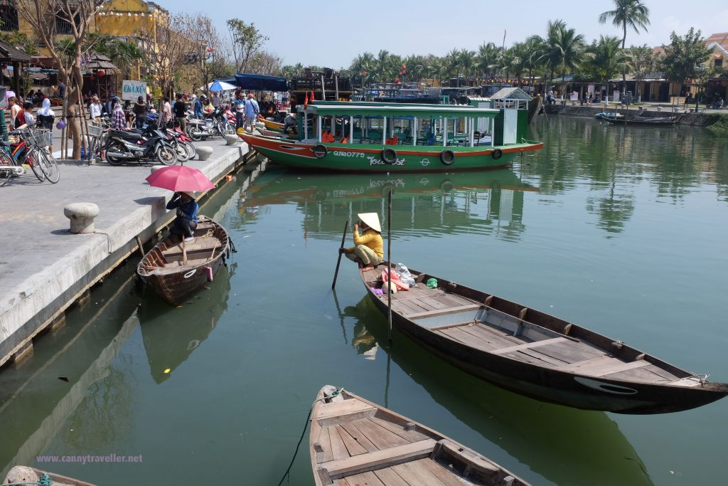 Life on the river in Hoi An, Vietnam
