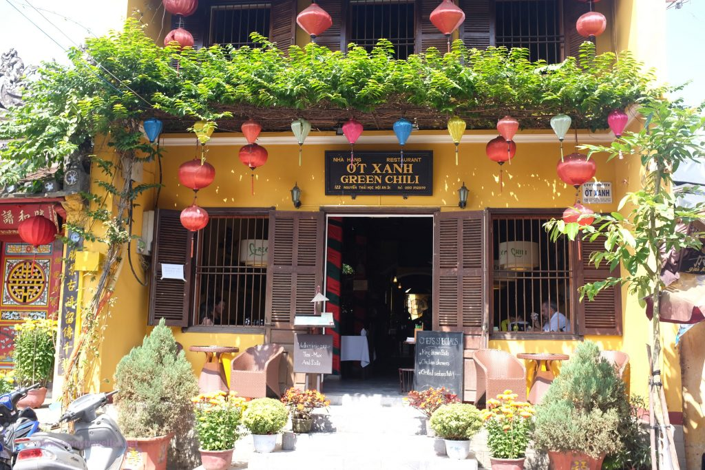 The Green Chili, Hoi An, Vietnam