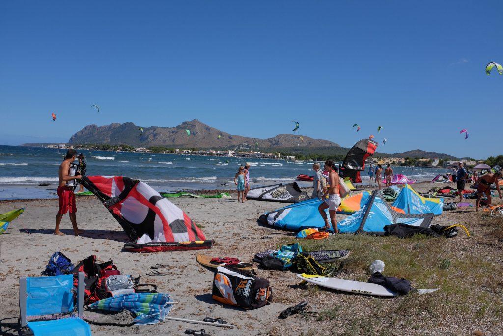 Kite Surfing, Pollenca Bay, Alcudia, Majorca