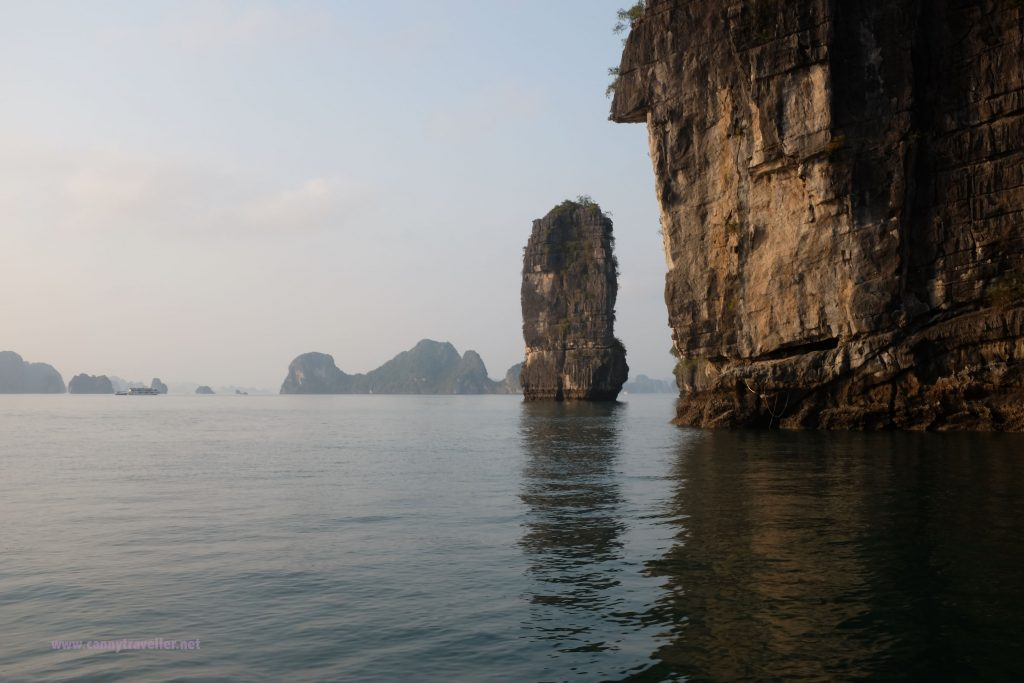 Cruising in Ha Long Bay, Vietnam