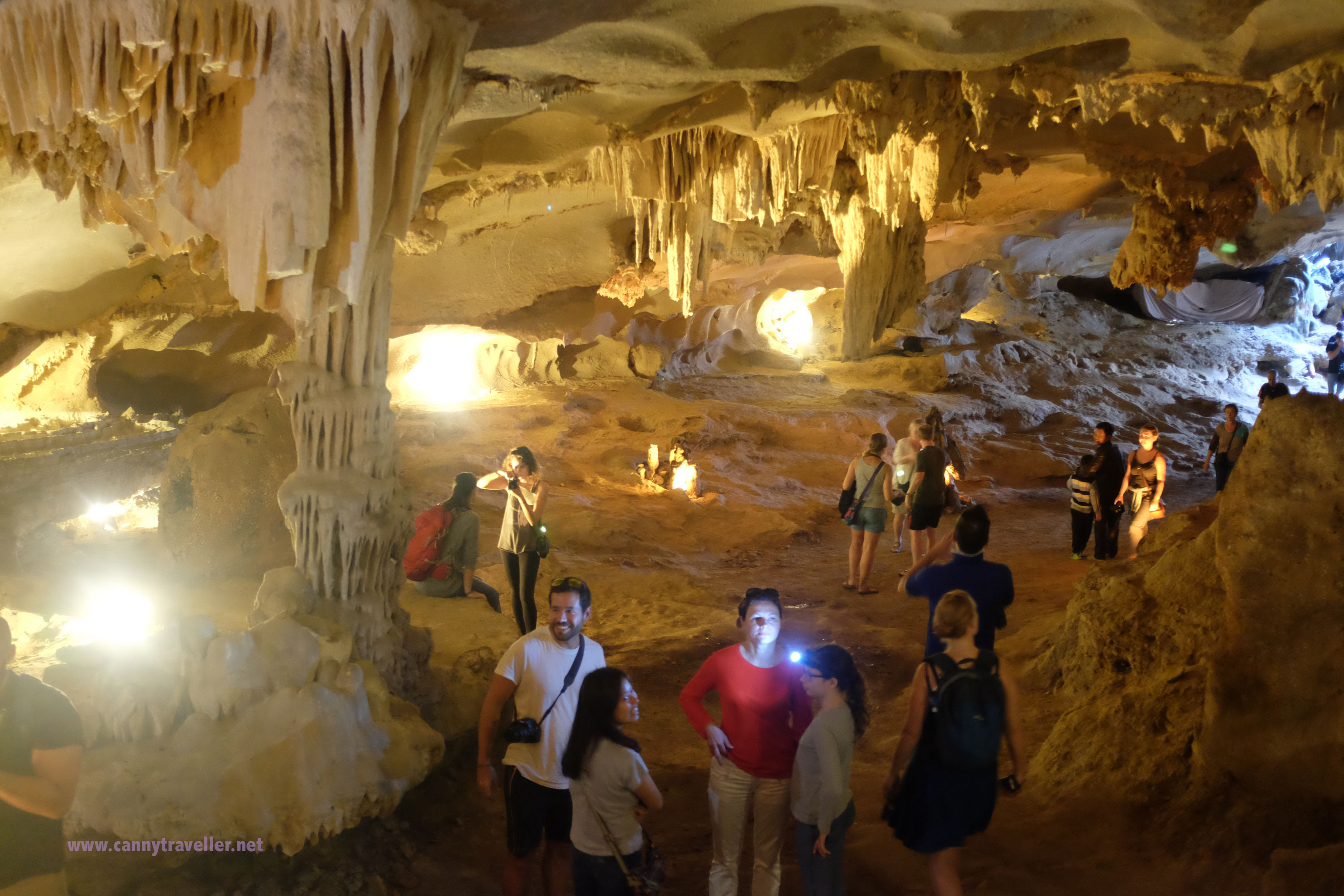 Limestone caves in Ha Long Bay, Vietnam