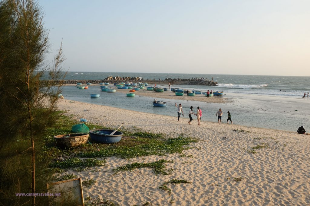 The beach at Phan Thiet, Vietnam