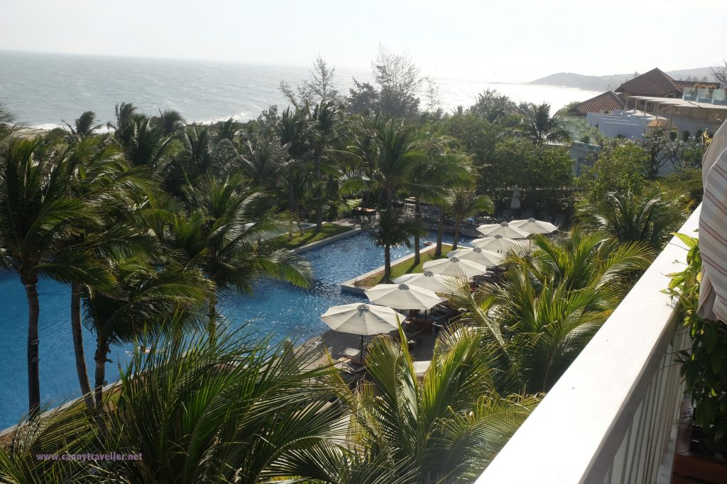 View from restaurant at Cliff Resort, Phan Thiet, Vietnam