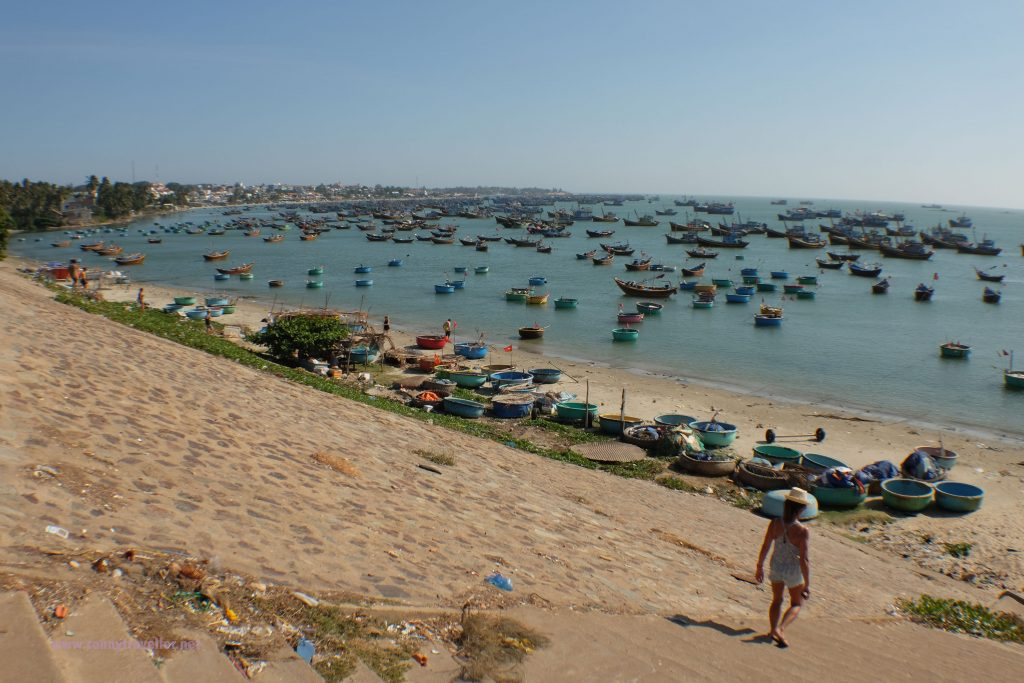 Fishing village, Mui Ne, Vietnam