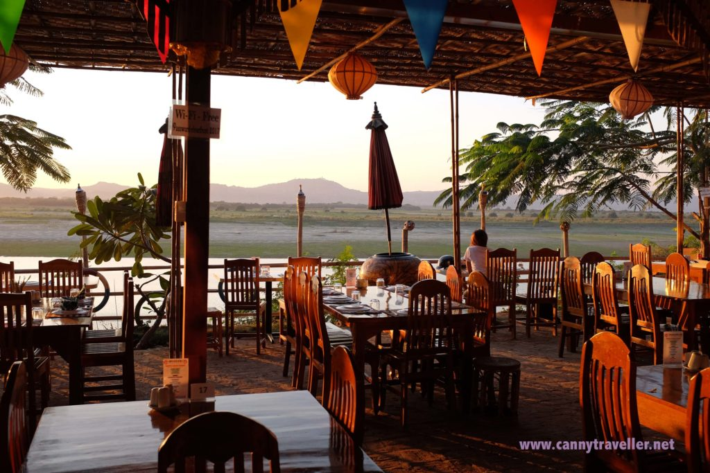 River Front Bar, New Bagan